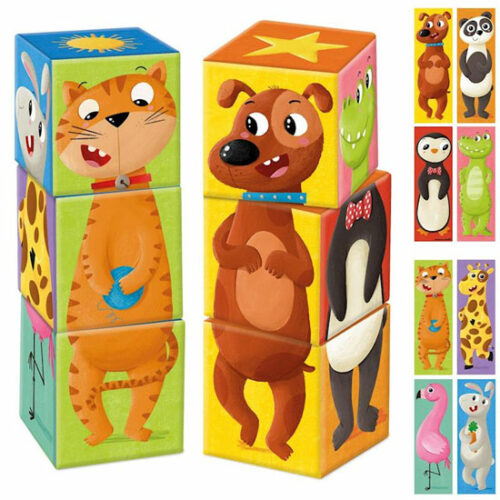 Puzzle cubos mix and match