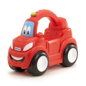 coche arrastre little tikes rojo