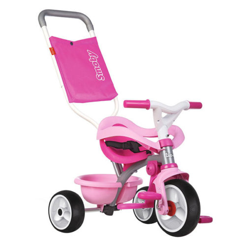 triciclo smoby be move confort rosa