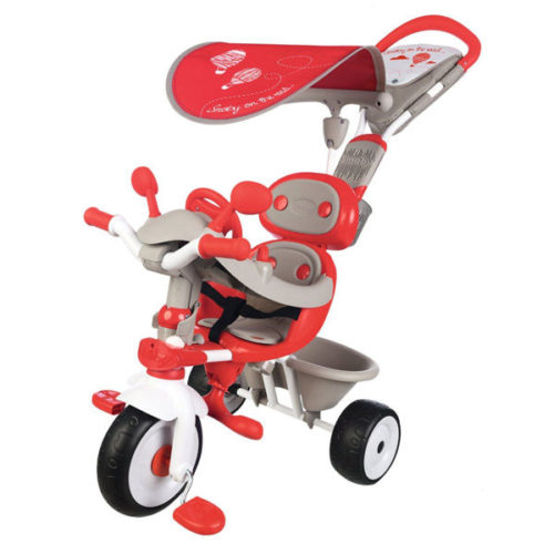 Triciclo baby driver confort rojo smoby
