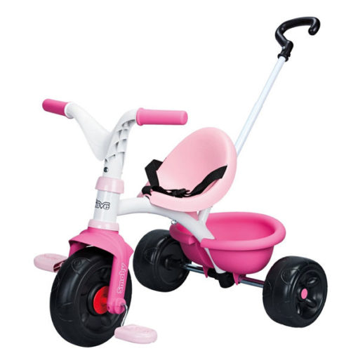 triciclo rosa smoby be move