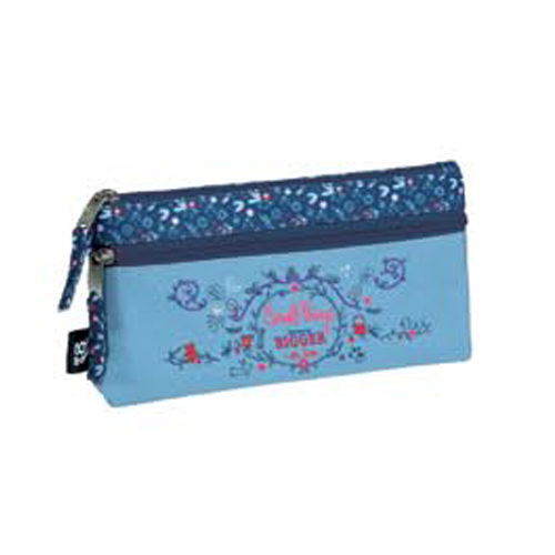 Estuche escolar doble Magic Busquets