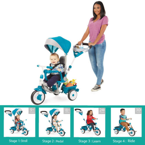 Triciclo little tikes 4 en 1