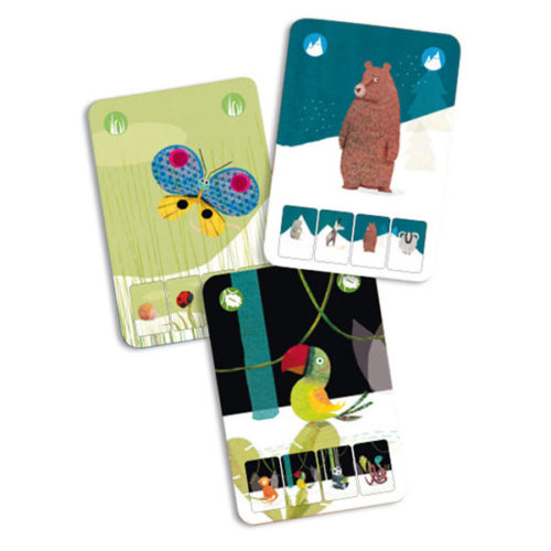 Cartas Mini Nature Djeco