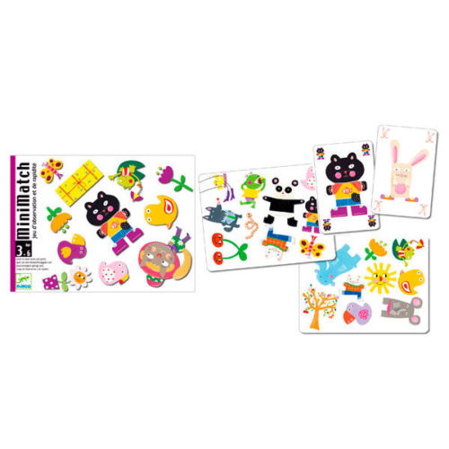 Cartas Minimatch Djeco