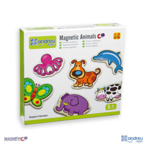 20 Animales Magnéticos Andreu Toys