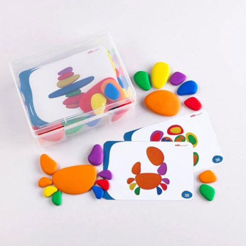 Rainbow Pebbles Commotion