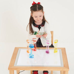 commotion WOODEN LIGHT TABLE 600x600mm