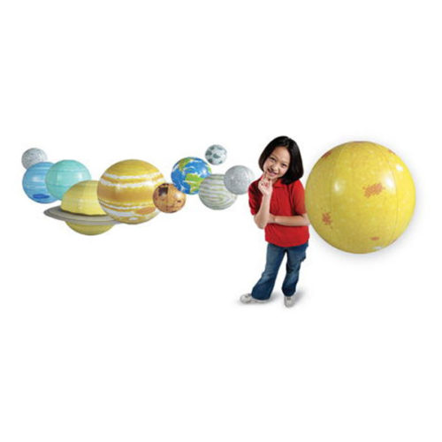 Inflatable Solar System Set Learning Resources