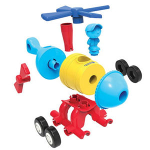 1-2-3 Build it!™ Rocket-Train-Helicopter Learning Resources