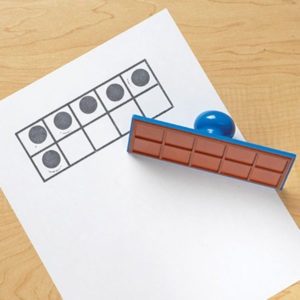 Ten-Frame Stamp Learning Resources
