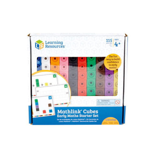MathLink® Cubes Activity Set Learning Resources