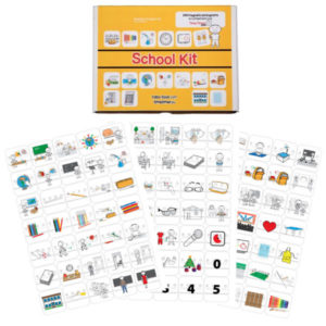 Kit de pictogramas escolares