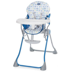 Trona marca chicco Pocket MEal azul