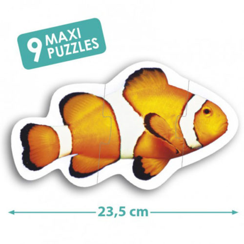 Maxi puzzle animales Akros