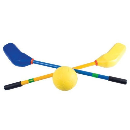Set De 12 Mazas de Hockey y Pelota