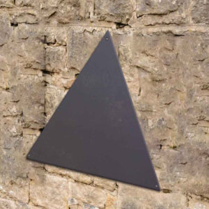Pizarrón Triangular