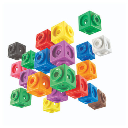 Mathlink Cubes Big Builders Learning Resources