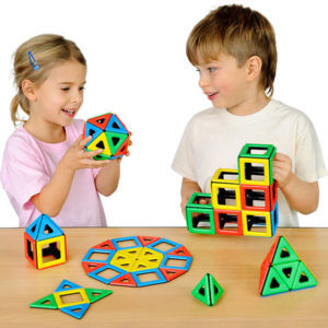 Polydron Magnetic Set para Clase Material motricidad Polydron Magnetic Set para Clase