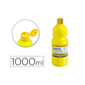 Tempera liquida giotto escolar lavable 1000 ml