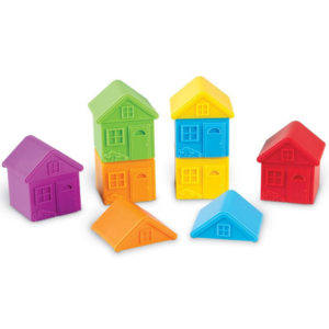 Learning Resources ALL ABOUT ME SORT & MATCH HOUSES