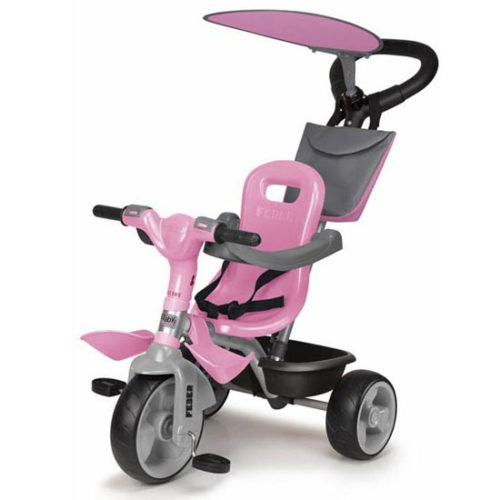 Triciclo Feber Baby Plus Music Rosa infanity