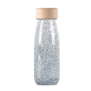 Petit Boum Float Bottle Silver