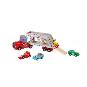 Janod Camion Portacoches Story con 4 Coches